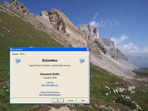 Dolomites Screen Saver 1.0 Screenshot