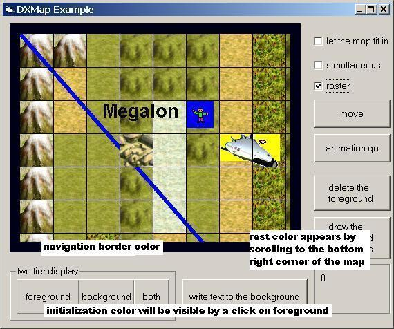DXMap ActiveX 1.1 Screenshot
